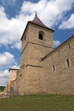 Wall and tower of christian monastery Royalty Free Stock Photography