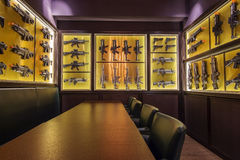 Wall of toy guns Stock Photography