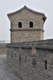 The wall turrets Royalty Free Stock Photography