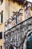 Wall of urban park giusti garden in Verona Royalty Free Stock Photography