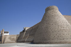 The wall in Uzbekistan Stock Photo