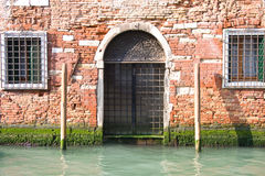 Wall in Venice Stock Images