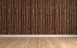 Wall with vertical stripes. 3d illustration Royalty Free Stock Photography