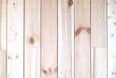 Wall from vertical  wooden planks as background Royalty Free Stock Photo