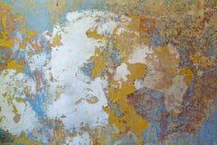 Wall and wallpaper residue Royalty Free Stock Image