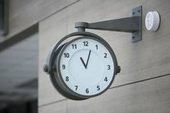 On wall watch royalty free stock images