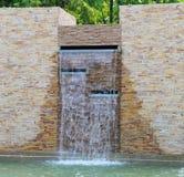 Wall waterfall Stock Photo
