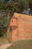 Wall, Wawel Hill; Krakow Stock Image