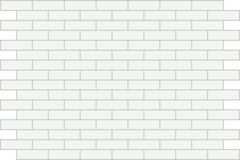 Wall white brick. Background. Royalty Free Stock Photography