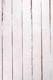 Wall of white planks Stock Photos