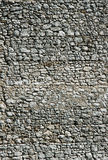 Wall of White rock in Jura Royalty Free Stock Photo
