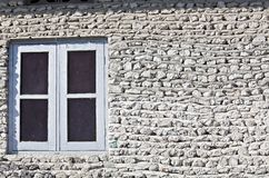 Wall with window Royalty Free Stock Image