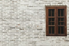 Wall with window Royalty Free Stock Photos