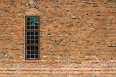 The wall and window Royalty Free Stock Photography