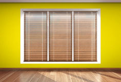 Wall window blind Stock Image
