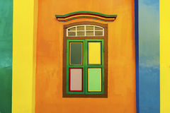Wall and window Royalty Free Stock Images