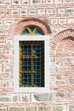 Wall with a window, Dzhumaya Mosque, Plovdiv, Bulgaria Stock Image