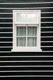 Wall With Window Frame Stock Photography