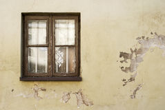Wall and window  texture background Royalty Free Stock Images