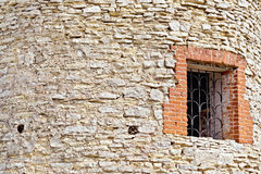 Wall and window of tower Royalty Free Stock Photography