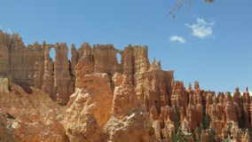 Wall of Windows in Bryce Canyon Royalty Free Stock Images