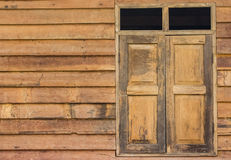 Wall and windows Royalty Free Stock Photography