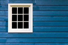 Wall With Window Frame Royalty Free Stock Photography