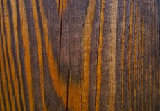 Wall wood background braun color textured. Wood background textured close-up braun color Stock Images