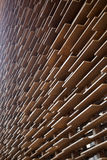Wall of wood boards Royalty Free Stock Photography