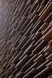 Wall of wood boards Stock Images