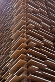 Wall of wood boards Royalty Free Stock Photos