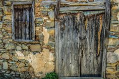 Wall, Wood, Stone Wall, Window royalty free stock images