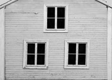 Wall of wooden house Royalty Free Stock Photo