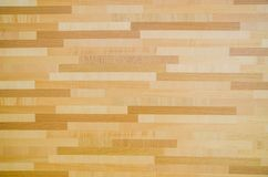 Wall wooden parquet Royalty Free Stock Photography