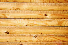 Wall of wooden planks as background Royalty Free Stock Photography