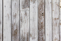 Wall wooden planks painted grey white Stock Photo