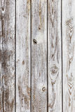 Wall wooden planks painted grey white Royalty Free Stock Photo
