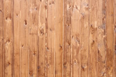Wall of wooden planks. Royalty Free Stock Photos