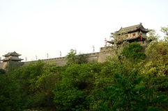 The wall in xian Stock Images