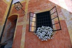 Wall of Zlata Koruna monastery Stock Photography
