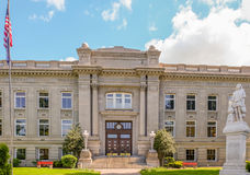 Walla的Walla华盛顿历史的市政厅 免版税库存照片