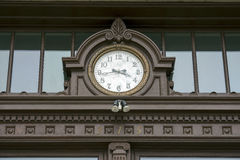 Walla Walla Washington County Courthouse Clock 01 Photographie stock libre de droits