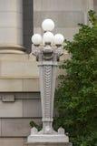 Walla Walla Washington County Courthouse Lamp 02 stock photography
