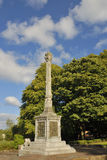 Wallace Memorial. Commemorative monument to Scottish patriot, William Wallace, marking the traditional site of his birth Stock Photography