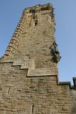 Wallace Monument royaltyfria bilder