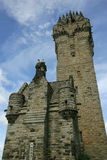 Wallace Monument. The William Wallace Monument in Scotland royalty free stock images
