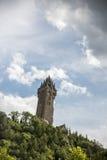 Wallace Monument en Escocia Fotos de archivo