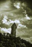 Wallace Monument en Escocia Fotografía de archivo