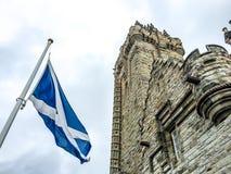 Wallace Monument nazionale, Stirling, Scozia Fotografie Stock