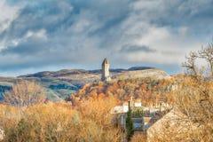 Wallace Monument Stirling Scotland Immagini Stock Libere da Diritti